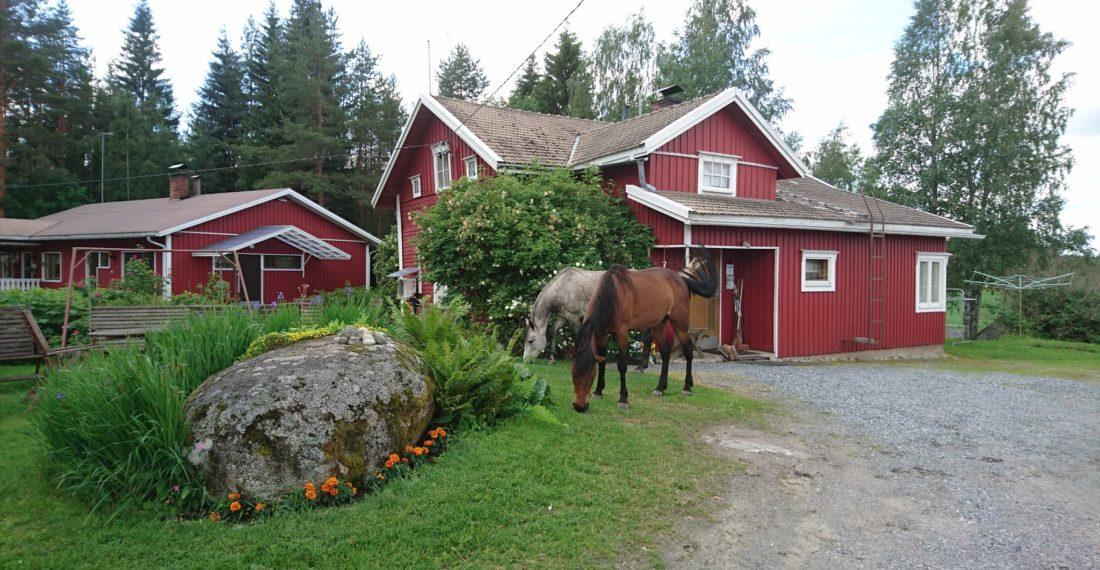 Maatilamatkailu Ilomäki