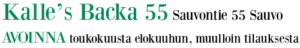 Kalle´s Backa 55